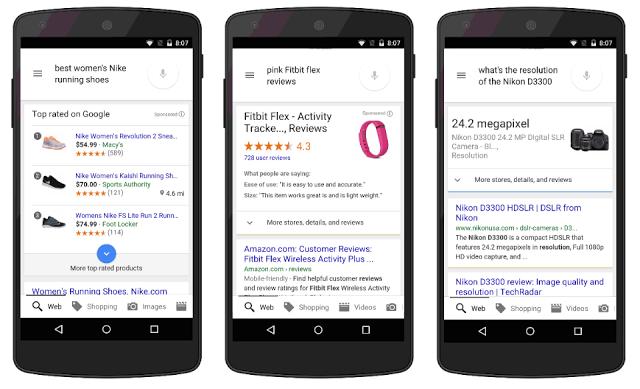 Google mobil Kereső: még több információ egy helyen