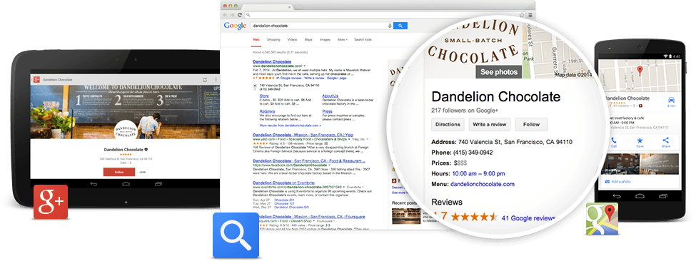 Google My Business / Google Cégem