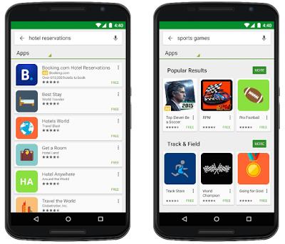 Google Play Kereső hirdetések
