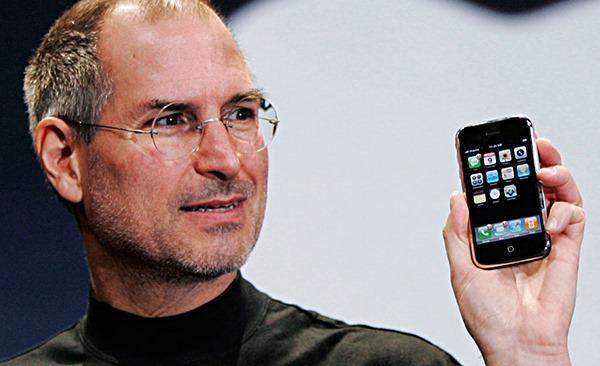 Steve Jobs és az első iPhone