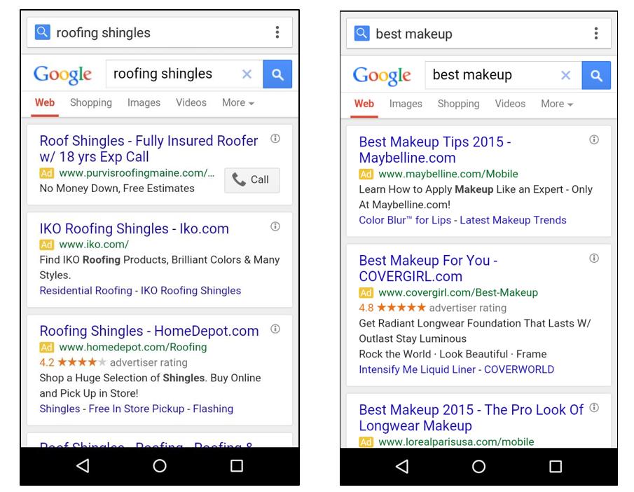 3 top kereső hirdetés mobilon