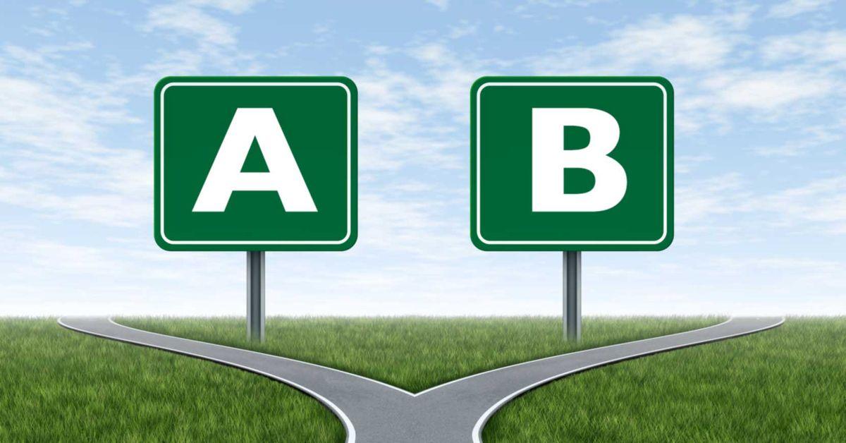 A/B tesztelés