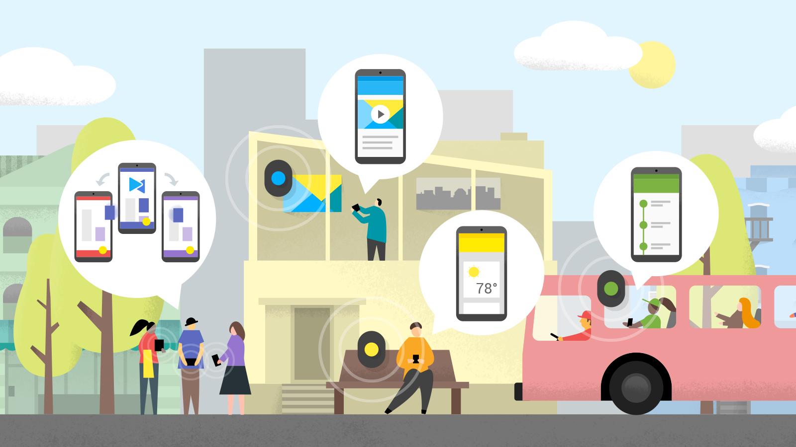 Eddystone: a Google új technológiája
