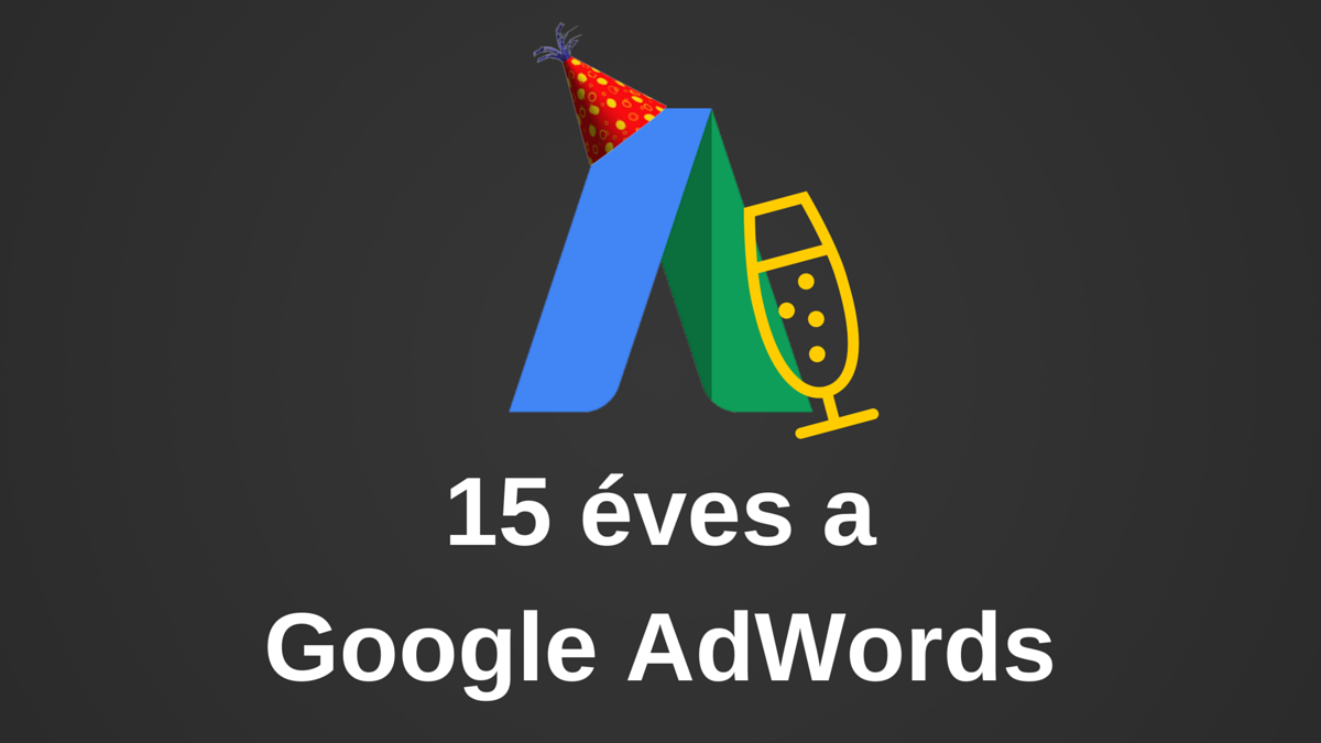 15 éves a Google AdWords