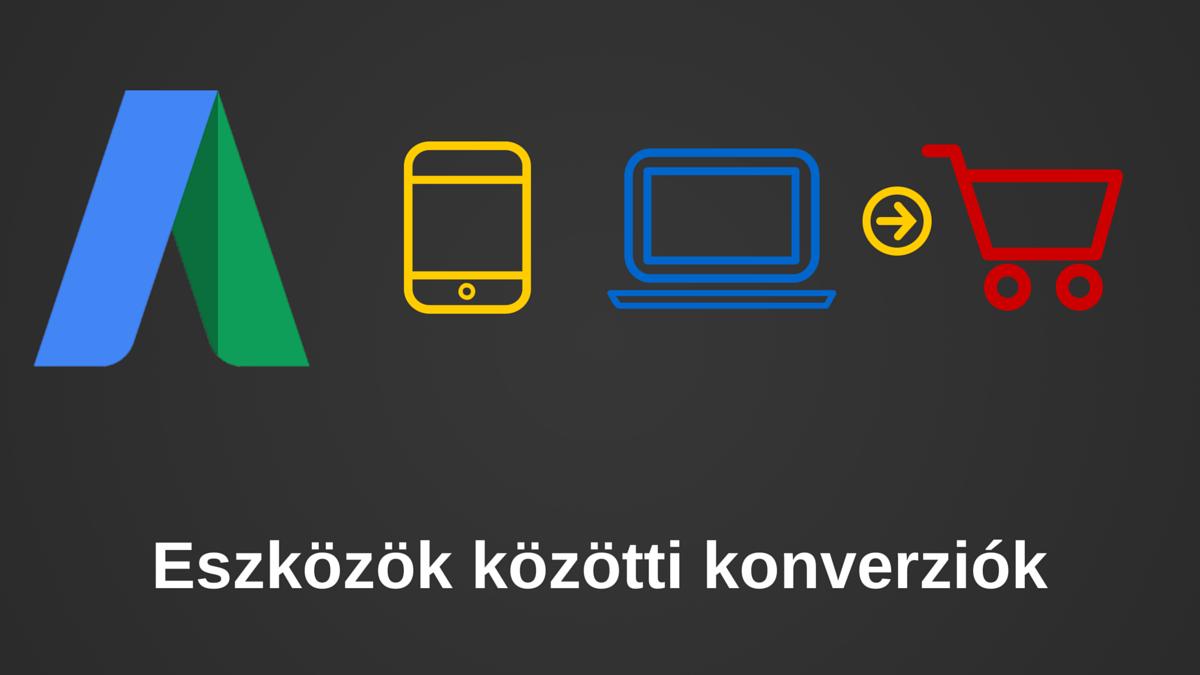 AdWords eszközök közötti (cross device) konverziók
