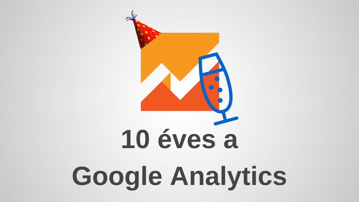 10 éves a Google Analytics