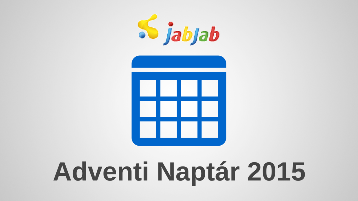 JabJab Adventi Naptár 2015