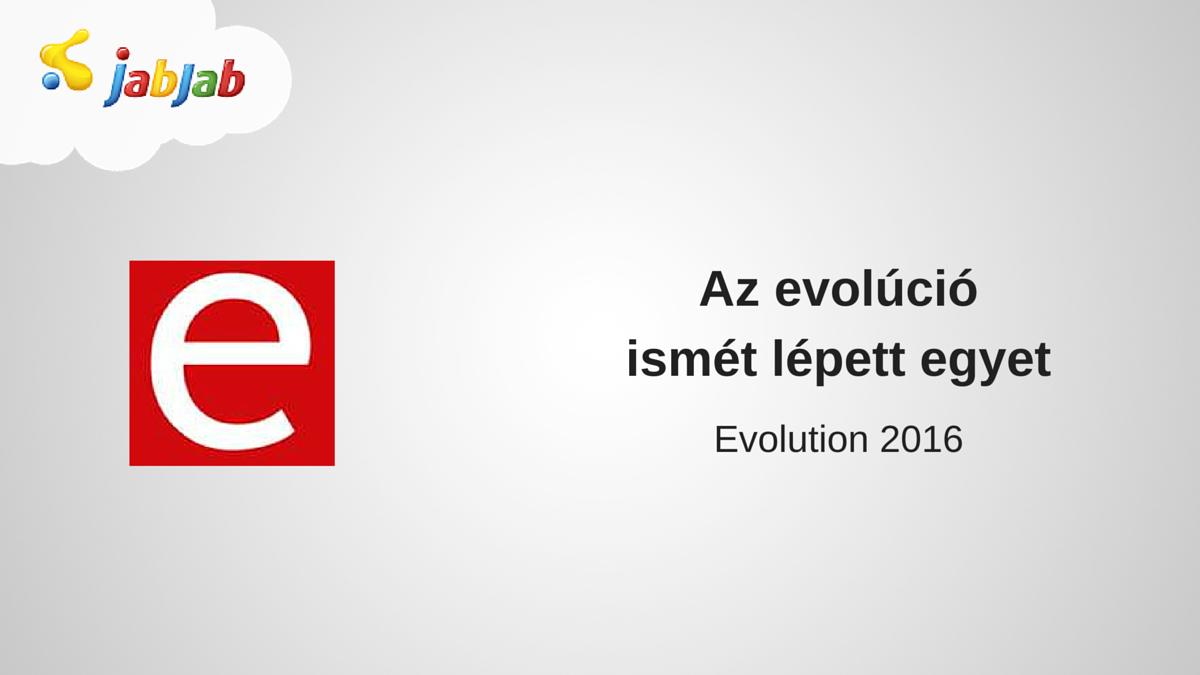 Evolution 2016