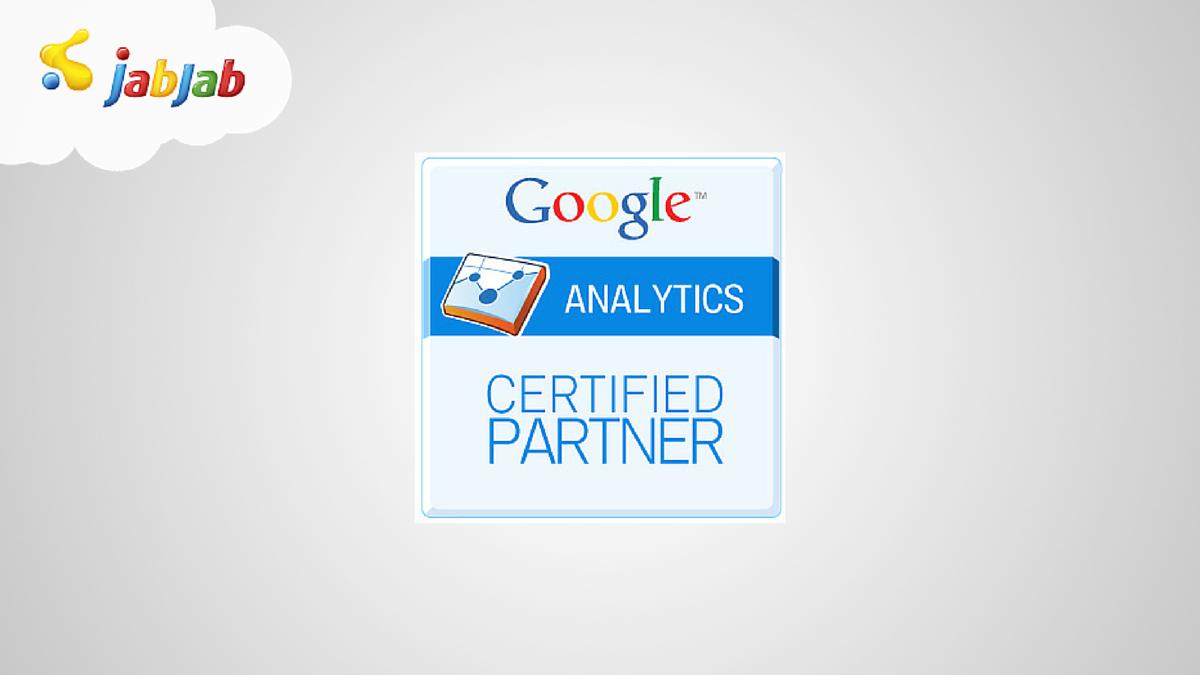 Minősített Google Analytics partner cég lettünk