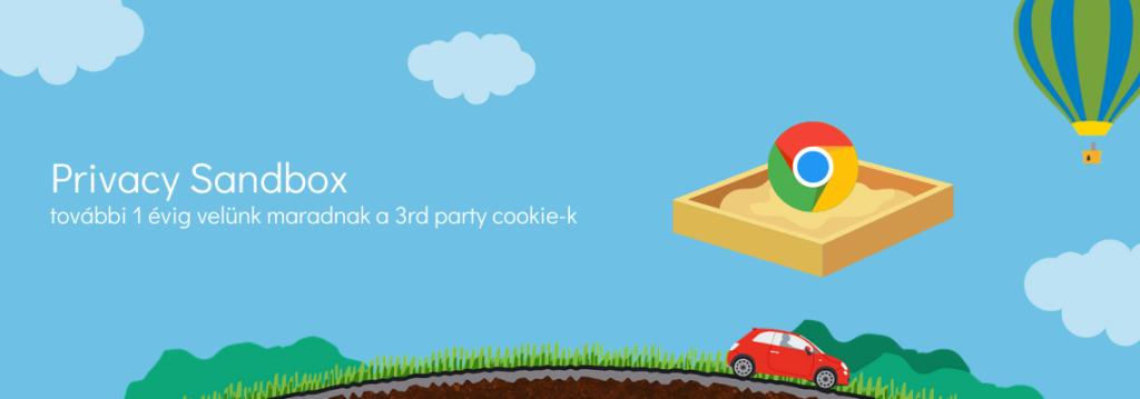 Privacy Sandbox: 3rd party cookie kivezetés elhalasztva